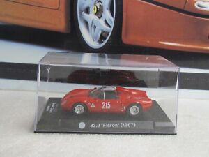 IXO  MODELS - 1967 ALFA ROMEO 33.2 - 1/43 SCALE MODEL - LE MANS RACE CAR