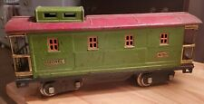 Lionel 517 Standard Gauge Green & Red Caboose