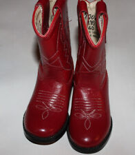 Red Boots Cowboy Shoes for Baby Girls