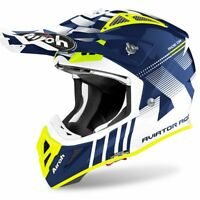 AIROH AVIATOR ACE NEMESI BLUE GLOSS MOTOCROSS MX ENDURO MOTORCYCLE BIKE HELMET