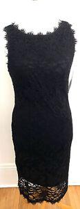 Blue Sage Lace Little Black Dress Size 16