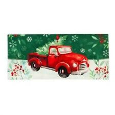 Christmas Heritage Red Truck Sassafras Switch Mat