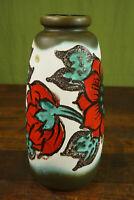 50er Vintage Vase Bodenvase Keramik Scheurich Blumenvase German Ceramic 60er