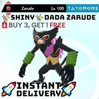 ✨SHINY✨ SCARF ZARUDE 6IV pokemon sword and shield dada zarude 🚀Fast Delivery🚀