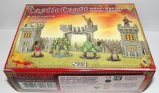 Toy soldiers. Tehnolog. Castle Craft 28 mm. Mini castle set #3. Gladiators
