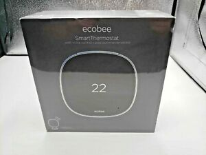 Ecobee Smart Thermostat With Voice Control Includes Smart Sensor Brand New