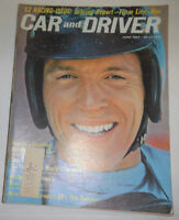 Car And Driver Magazine Dan Gurney & Ferrari June 1962 WITH ML 091214R