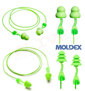 MOLDEX Reusable Ear Plugs Moldex Twisters Corded Earplugs Ear Protection