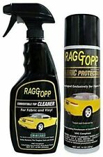 WOLFSTEINS RAGGTOPP CONVERTIBLE TOP FABRIC CLEANER & PROTECTANT KIT