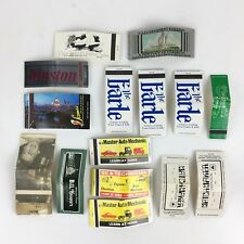 508c588f2c3 Lot 15 Matchbook Covers Double Two Sided Printed Match Stems Vintage  Advertising