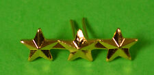 3 in a row 5/16 inch Gold Star attachment device for Medals & Ribbon Bars