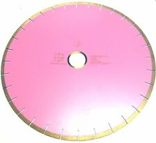 "DIAMOND Silent Silver Brazed Saw Blade 18"" inch, 1"" Arbor for Marble DW73P"