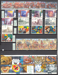 CA72. GB X2 PAGES 1988-90. Cat. £80+.