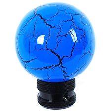 Blue Thunderbolt Ball Manual Operation Car Truck Gear Shift Knob Shifter Lever