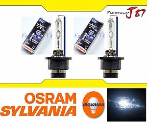 OpenBox Sylvania HID Silverstar ZXE 5000K White D4S Two Bulbs Head Light Replace