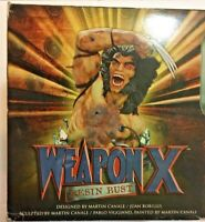WEAPON X RESIN BUST WOLVERINE MARVEL COMICS MIB DYNAMIC FORCES Limited to 2000