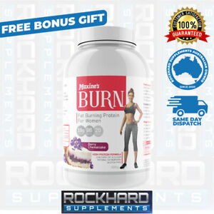 Maxine's Burn Lean Protein 500g Women's Weight Loss Fat Burner Thermogenic