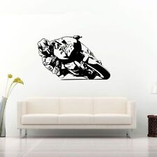 DANI PEDROSA MOTO GP WALL ART motorcycle racer decal graphic adhesive UNIQUE