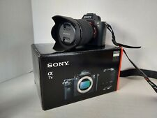 Sony Alpha A7 II 24.3 MP Mirrorless Digital Camera with 28-70mm Lens - Excellent
