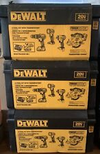 DEWALT 20V MAX XR Series Compact 4-Piece Tool Combo Kit DCK483D2 New