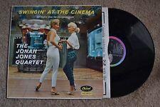 Swingin' At The Cinema Jonah Jones Quartet Cheesecake Cinema Fashion Record VG++