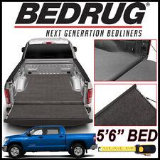 BEDRUG XLT Carpet Truck Bed Mat Liner fits 2007-20 Toyota Tundra W/ 5.5 FT. BED