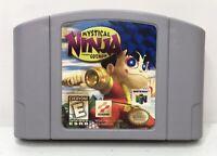 Nintendo 64 N64 Mystical Ninja Starring Goemon *Authentic/Cleaned/Tested*