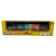 Jeff Gordon No. 24 DuPont Deluxe 1994 1:64 Die Cast Cab & Trailer with Stock Car