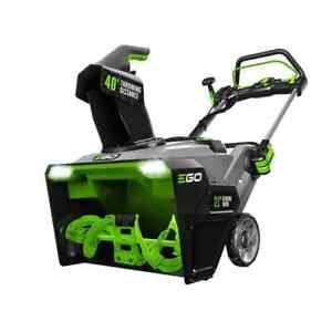 """Ego Power+ SNT2110 Peak Power 21"""" 56V Cordless Snow Blower No Battery or Charger"""