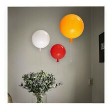 3D Circle balloon wall light