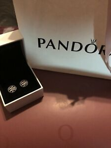 Pandora Beautiful Tree Of Life Earrings With Pop Up Gift Box And Wrap