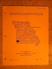 NEWTON COUNTY MO MISSOURI TOWN HISTORY BOOKLET ROOTS BOOK GENEALOGY NEOSHO