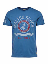 Jack and Jones Malibu Beach Tee Federal Blue T-Shirt