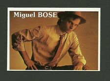 Miguel Bose Pop Rock Music Card from Spain