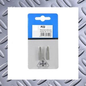 HaWe Bits PZ2 Standard Länge: 25mm   Pack: 2 Stück    NEU & OVP