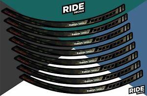 Hope Tech 35W 27.5 Rim Decal/Sticker Set - Camo
