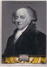 2012 Panini Americana Heroes & Legends John Adams