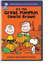 IT'S THE GREAT PUMPKIN CHARLIE BROWN DVD Remastered Deluxe Edition Peanuts NEW