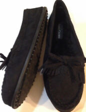 Slippers womens size 9-10M new Faded Glory fabric upper man made materials