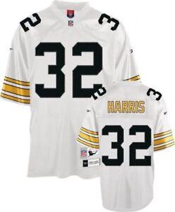 Pittsburgh Steelers Franco Harris Premier Throwback Reebok  Jersey NEW MEDIUM