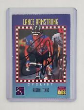 Sports Illustrated Kids SIFK 1994 LANCE ARMSTRONG #276 RC Rookie SIGNED w/COA!
