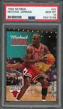 1992 93 Skybox #31 Michael Jordan PSA 10 GEM MINT