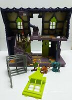 Scooby Doo Haunted Mansion includes Traps Figures Bundle Mystery Machine Van