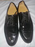 Cole Haan Mens Black Oxford Dress Shoe Sz 10.5M
