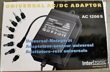Universal Netzgerät AC/DC Adaptor Intertronic AC1200S