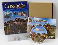 2x PC-COSSACKS THE ART OF était + Cossacks une nouvelle ère commence European Wars