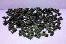 Lego Bricks 100 Black Corner Plates 2x2 Job Lot Bundle City Star Wars