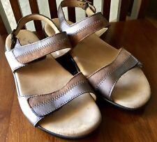 SAS Nudu Dusk Sandal Two Tone Leather Slingback Comfort Shoe Womens SIZE 8WW