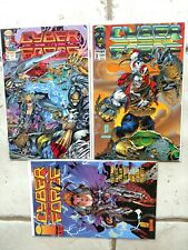 Image's Cyber Force Vol 1 #2-4. Full Run + Cyblade #1:Cyber Force Origins NM