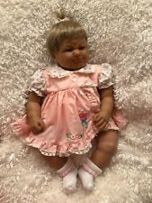 """New Listing Berenguer Baby Girl Doll with pouty lips 18"""""""